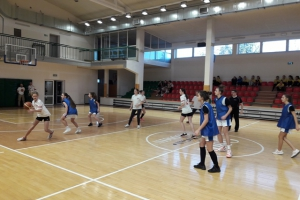Igrzyska Międzypowiatowe Rejonu Legionowo w Koszykówce Dziewcząt
