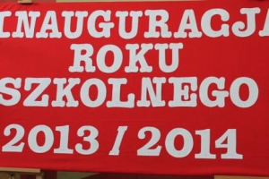 Inauguracja roku szkolnego 2013-2014