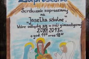 Jasełka 2013r. część I