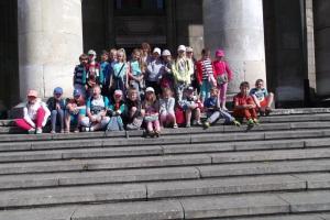 Wycieczka klasy IIA do Warszawy